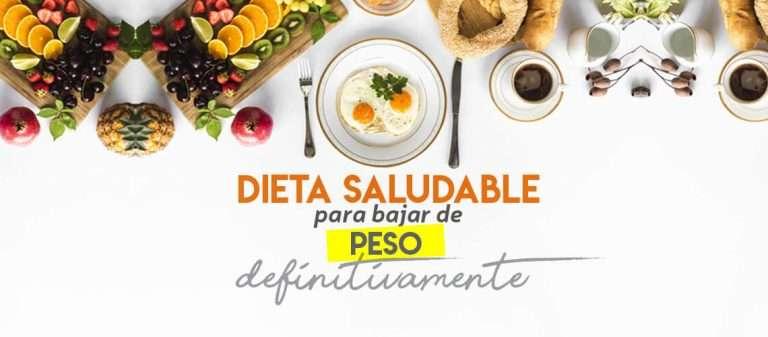 Dieta perder peso saludablemente