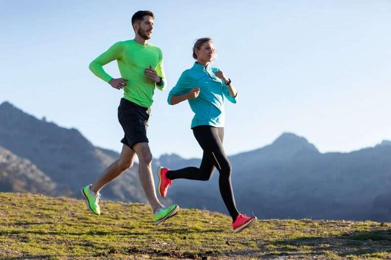 Quema calorías ya sea corriendo o caminando