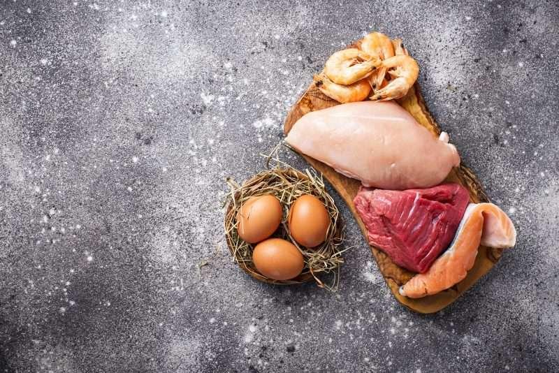 Cuarto nivel: carnes, pollo y huevos