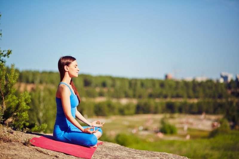 Respira, respira y vuelve a respirar te ayudara a mantenerte calmada.